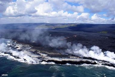 Bazalt lav akıntıları