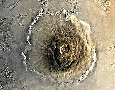 Olympus Mons yanardağı
