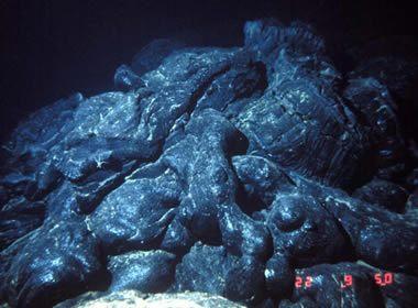 Deniz tabanı yastık bazaltları