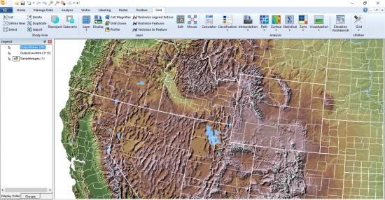 Geomedia Raster Analizi
