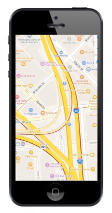 GPS Navigasyon Uygulamaları Apple Maps