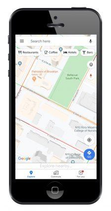 GPS Uygulamaları Google Haritalar