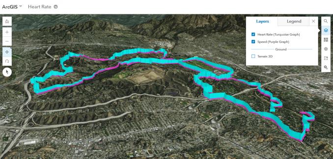 kalp atış hızı 3D haritası