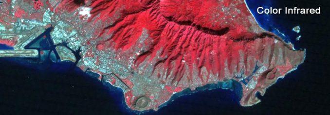 Landsat Renkli Kızılötesi