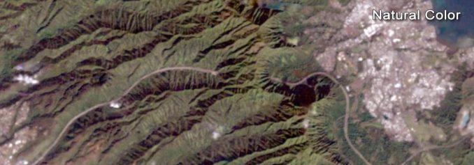 Landsat Doğal Renk