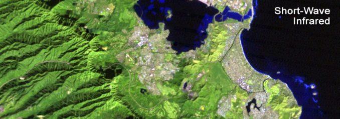 Landsat Kısa Dalga Kızılötesi