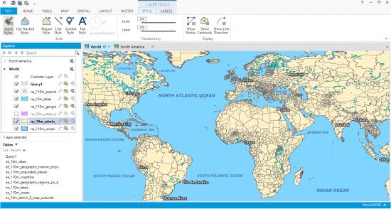 MapInfo Profesyonel Dünya