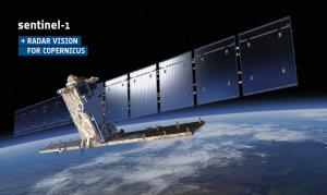 sentinel-1 uydusu